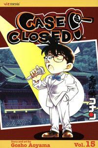 Cover for Case Closed (Viz, 2004 series) #15