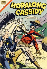 Cover Thumbnail for Hopalong Cassidy (Editorial Novaro, 1952 series) #155