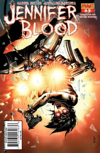 Cover Thumbnail for Jennifer Blood (Dynamite Entertainment, 2011 series) #3 [Cover B]