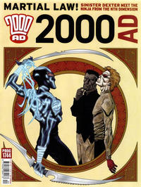 Cover Thumbnail for 2000 AD (Rebellion, 2001 series) #1744