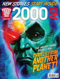 Cover Thumbnail for 2000 AD (Rebellion, 2001 series) #1740