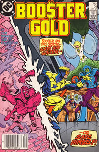 Cover Thumbnail for Booster Gold (DC, 1986 series) #21 [Newsstand]