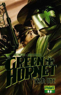 Cover Thumbnail for Green Hornet: Year One (Dynamite Entertainment, 2010 series) #1 [Ross Green Foil]