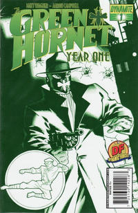 Cover Thumbnail for Green Hornet: Year One (Dynamite Entertainment, 2010 series) #1 [Wagner DF Cool Green Exclusive]