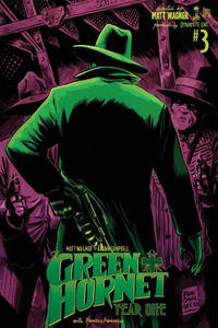Cover Thumbnail for Green Hornet: Year One (Dynamite Entertainment, 2010 series) #3 [Cover B - Francesco Francavilla]