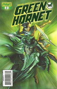 Cover Thumbnail for Green Hornet (Dynamite Entertainment, 2010 series) #1 [[4] Alex Ross Green Foil Cover]