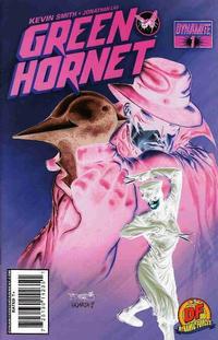 Cover Thumbnail for Green Hornet (Dynamite Entertainment, 2010 series) #1 [15. Segovia DF Exclusive Negative Art]
