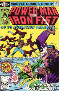 Cover Thumbnail for Power Man and Iron Fist (Marvel, 1981 series) #70 [direct]