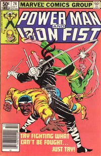 Cover for Power Man and Iron Fist (Marvel, 1981 series) #74 [direct]