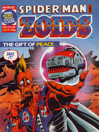 Cover Thumbnail for Spider-Man and Zoids (Marvel UK, 1986 series) #31