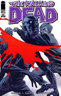 Cover for The Walking Dead (Image, 2003 series) #88 [Fan Expo Canada Exclusive Variant Cover by Charlie Adlard]