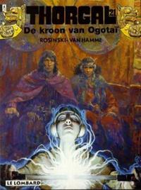 Cover Thumbnail for Thorgal (Le Lombard, 1980 series) #21 - De kroon van Ogotaï