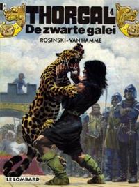 Cover Thumbnail for Thorgal (Le Lombard, 1980 series) #4 - De zwarte galei [Herdruk 1984]