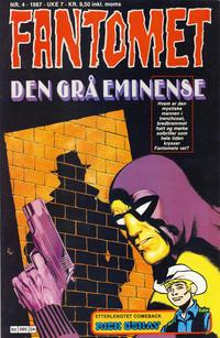 Cover Thumbnail for Fantomet (Semic, 1976 series) #4/1987
