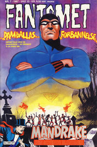 Cover Thumbnail for Fantomet (Semic, 1976 series) #7/1987