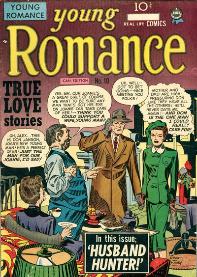Cover for Young Romance (Derby Publishing, 1948 series) #10
