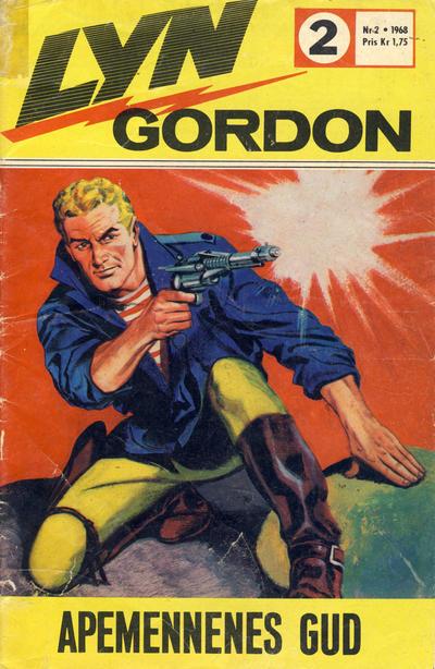 Cover for Lyn Gordon (Romanforlaget, 1967 series) #2/1968
