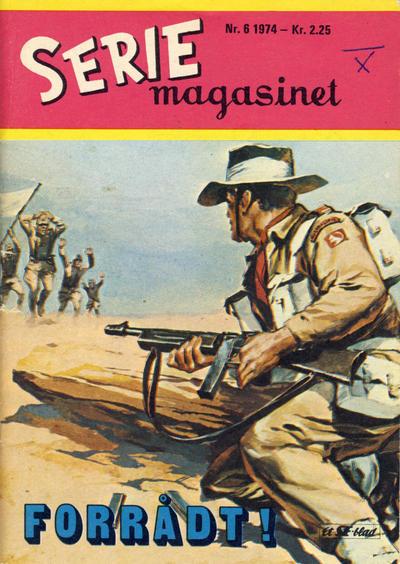 Cover for Seriemagasinet (Serieforlaget / Se-Bladene / Stabenfeldt, 1951 series) #6/1974