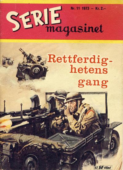Cover for Seriemagasinet (Serieforlaget / Se-Bladene / Stabenfeldt, 1951 series) #11/1973
