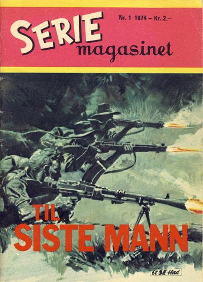 Cover for Seriemagasinet (Serieforlaget / Se-Bladene / Stabenfeldt, 1951 series) #1/1974