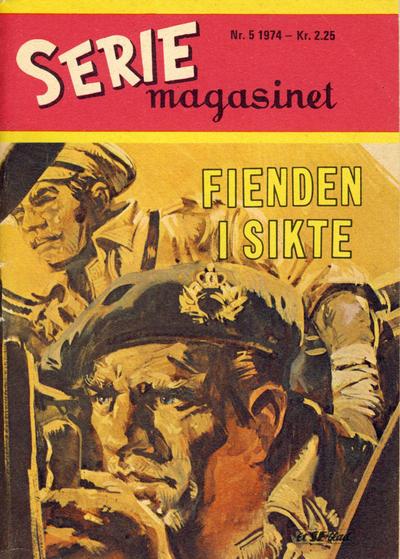 Cover for Seriemagasinet (Serieforlaget / Se-Bladene / Stabenfeldt, 1951 series) #5/1974