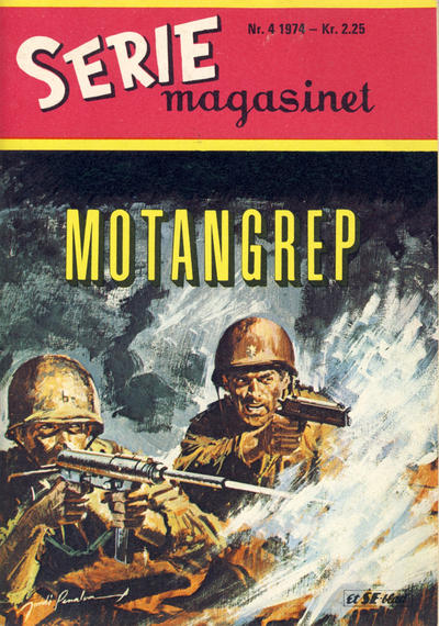Cover for Seriemagasinet (Serieforlaget / Se-Bladene / Stabenfeldt, 1951 series) #4/1974