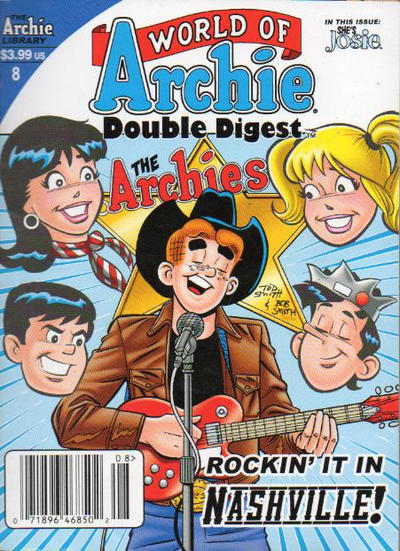 Cover for World of Archie Double Digest (Archie, 2010 series) #8