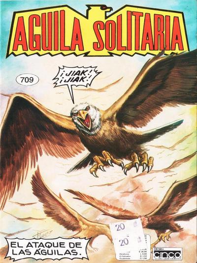 Cover for Aguila Solitaria (Editora Cinco, 1976 ? series) #709