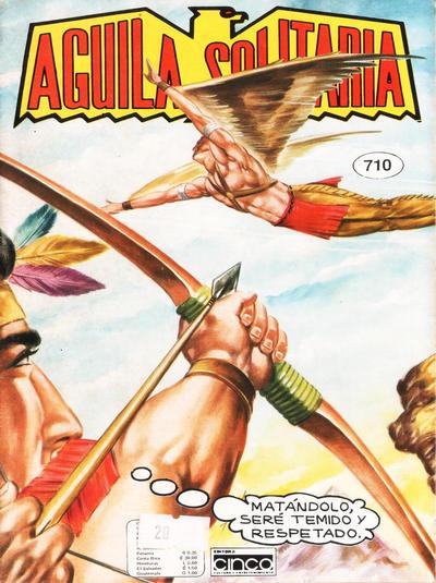 Cover for Aguila Solitaria (Editora Cinco, 1976 ? series) #710