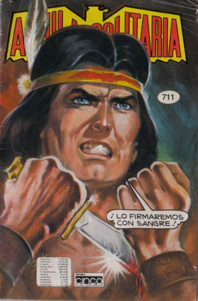 Cover for Aguila Solitaria (Editora Cinco, 1976 ? series) #711