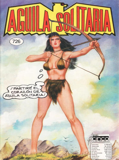 Cover for Aguila Solitaria (Editora Cinco, 1976 ? series) #726