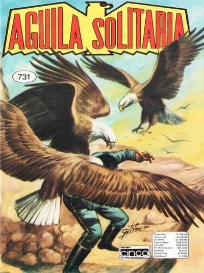 Cover for Aguila Solitaria (Editora Cinco, 1976 ? series) #731