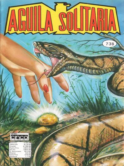 Cover for Aguila Solitaria (Editora Cinco, 1976 ? series) #738
