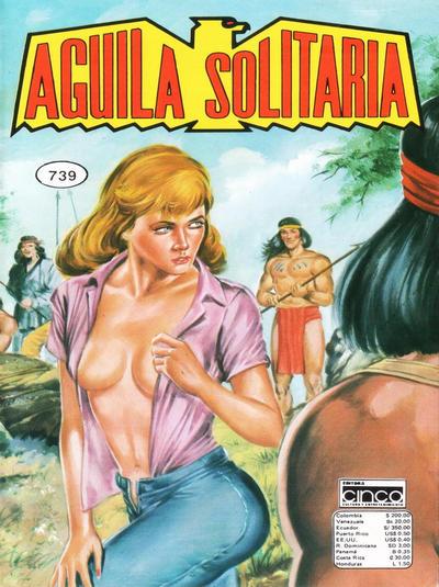 Cover for Aguila Solitaria (Editora Cinco, 1976 ? series) #739