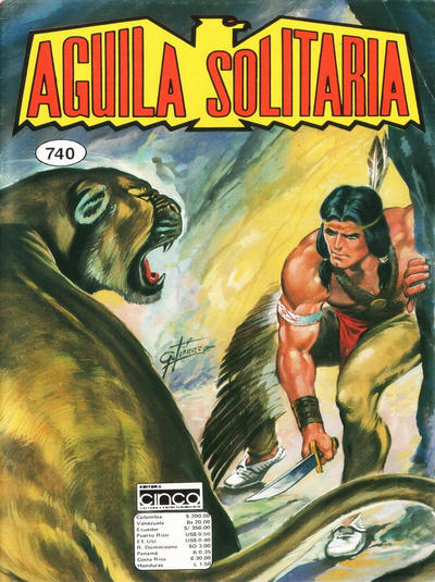Cover for Aguila Solitaria (Editora Cinco, 1976 ? series) #740