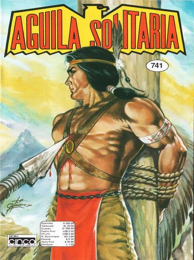 Cover for Aguila Solitaria (Editora Cinco, 1976 ? series) #741