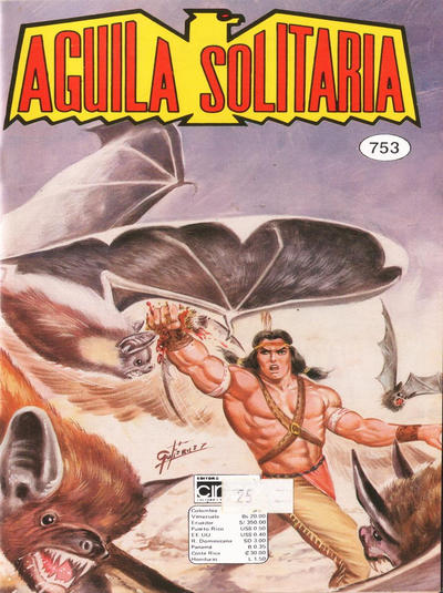 Cover for Aguila Solitaria (Editora Cinco, 1976 ? series) #753