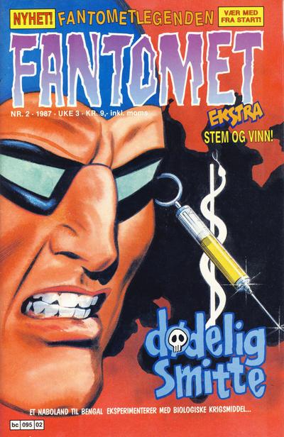 Cover for Fantomet (Semic, 1976 series) #2/1987