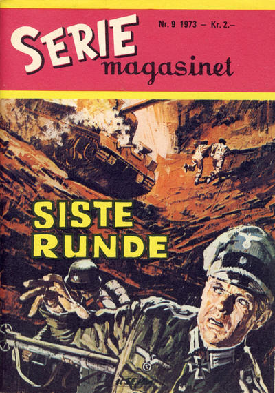Cover for Seriemagasinet (Serieforlaget / Se-Bladene / Stabenfeldt, 1951 series) #9/1973