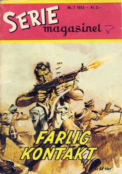 Cover for Seriemagasinet (Serieforlaget / Se-Bladene / Stabenfeldt, 1951 series) #7/1973