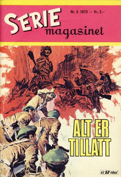 Cover for Seriemagasinet (Serieforlaget / Se-Bladene / Stabenfeldt, 1951 series) #5/1973