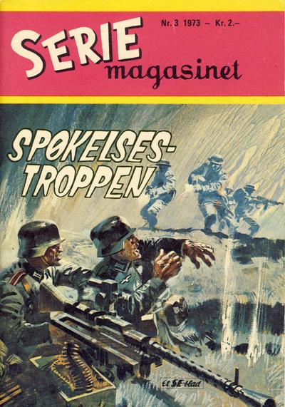 Cover for Seriemagasinet (Serieforlaget / Se-Bladene / Stabenfeldt, 1951 series) #3/1973