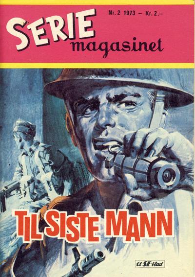 Cover for Seriemagasinet (Serieforlaget / Se-Bladene / Stabenfeldt, 1951 series) #2/1973