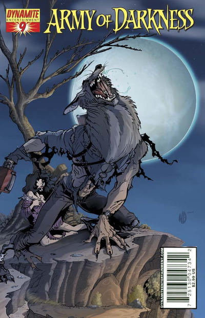 Cover for Army of Darkness (Dynamite Entertainment, 2005 series) #9 [B&W RI - Sneak Peek]