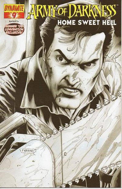 Cover for Army of Darkness (Dynamite Entertainment, 2007 series) #9 [Cover B]