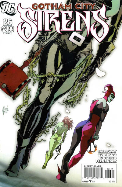 Cover for Gotham City Sirens (DC, 2009 series) #26