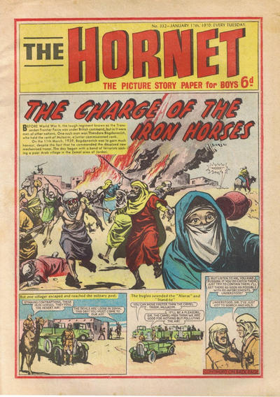 Cover for The Hornet (D.C. Thomson, 1963 series) #332