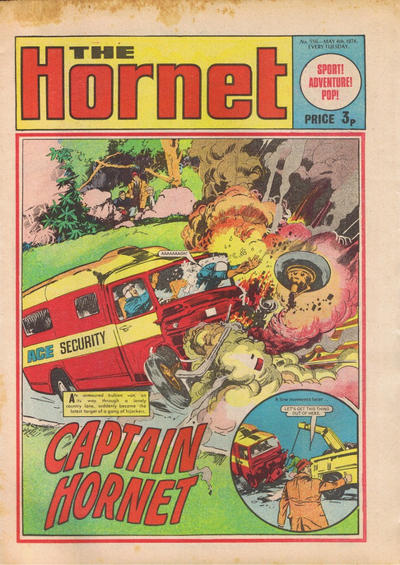 Cover for The Hornet (D.C. Thomson, 1963 series) #556