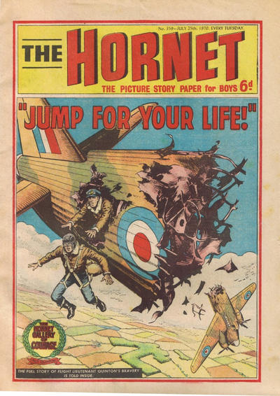 Cover for The Hornet (D.C. Thomson, 1963 series) #359