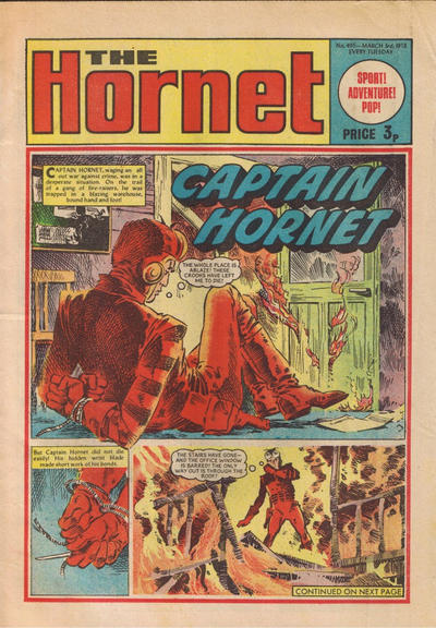 Cover for The Hornet (D.C. Thomson, 1963 series) #495